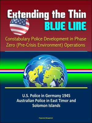 cover image of Extending the Thin Blue Line
