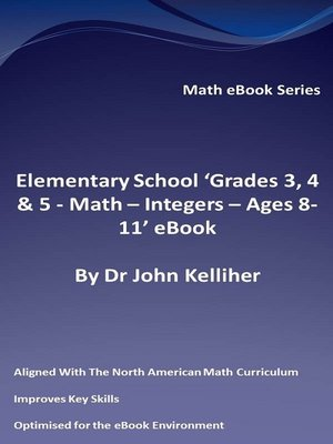 cover image of Primary School 'KS2 (Key Stage 2)--Maths – Integers--Ages 7-11' eBook