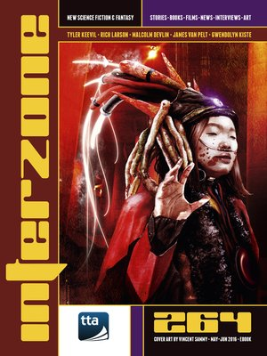 cover image of Interzone #264 (May-June 2016)
