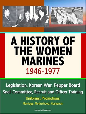 cover image of A History of the Women Marines, 1946-1977