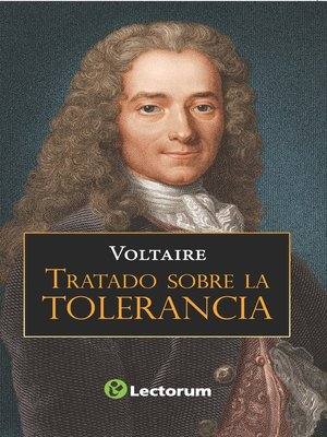 cover image of Tratado sobre la tolerancia