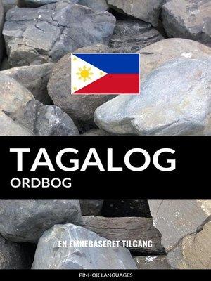 cover image of Tagalog ordbog