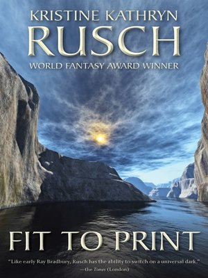 cover image of Fit to Print