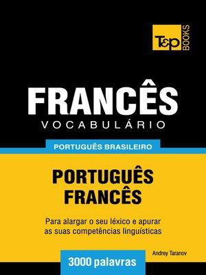 cover image of Vocabulário Português Brasileiro-Francês