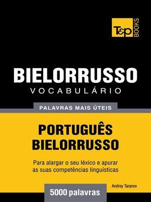 cover image of Vocabulário Português-Bielorrusso