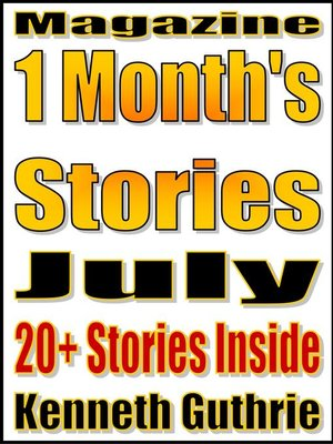 cover image of This Month's Stories (July 2011)