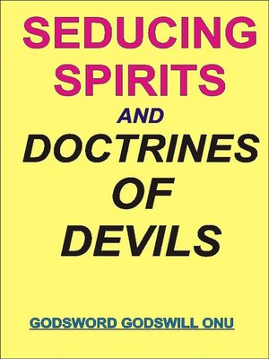 cover image of Seducing Spirits and Doctrines of Demons