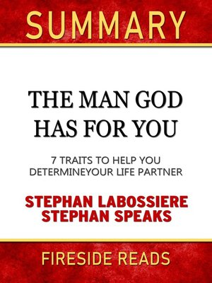 cover image of Summary of the Man God Has for You
