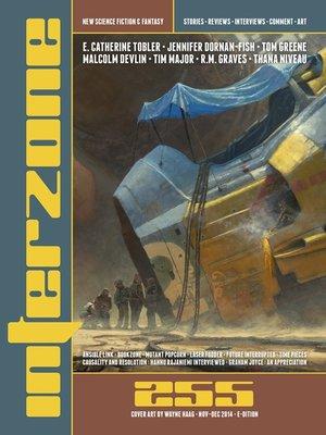 cover image of Interzone #255 Nov