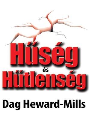 cover image of Hűség És Hűtlenség