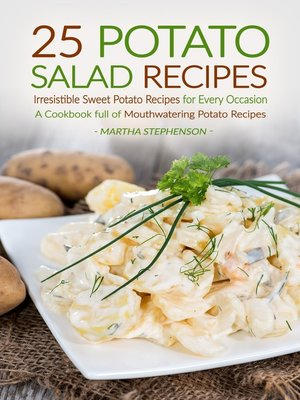 cover image of 25 Potato Salad Recipes