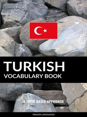 cover image of Turkish Vocabulary Book
