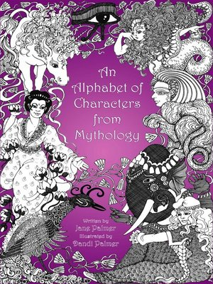 cover image of An Alphabet of Characters from Mythology