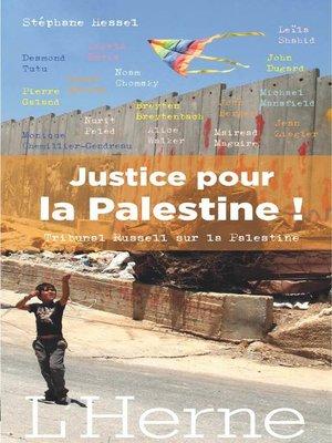 cover image of Justice pour la Palestine !