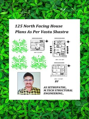cover image of 125 North Facing House Plans As Per Vastu Shastra