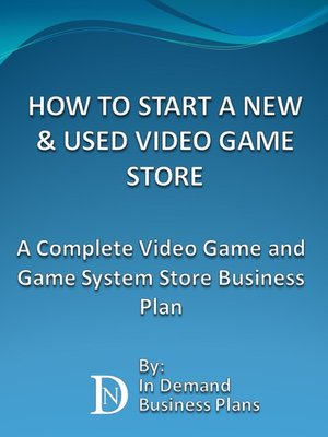 cover image of How to Start a New & Used Video Game Store