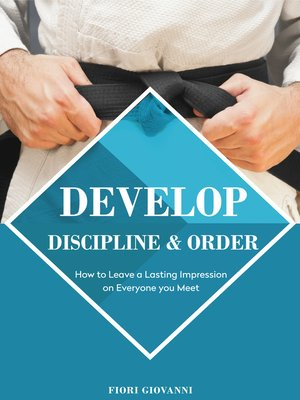 cover image of Develop Discipline and Order