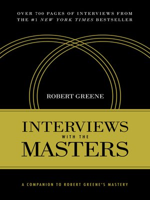 cover image of Interviews with the Masters