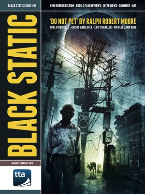 cover image of Black Static #67 (January-February 2019)