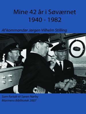 cover image of Mine 42 år i søværnet 1940
