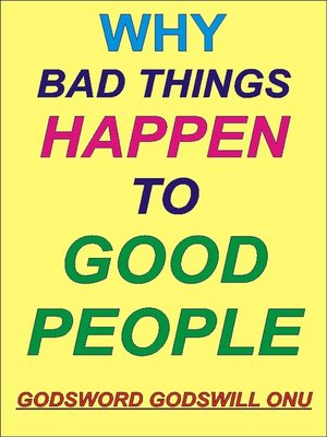 cover image of Why Bad Things Happen to Good People