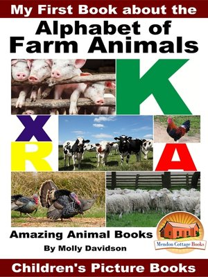cover image of My First Book about the Alphabet of Farm Animals