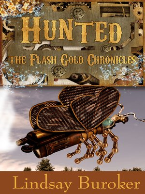 cover image of Hunted (The Flash Gold Chronicles, #2)