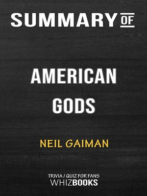 cover image of Summary of American Gods