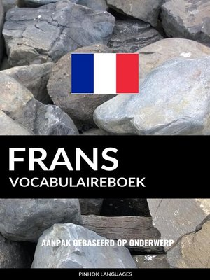 cover image of Frans vocabulaireboek