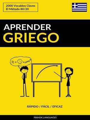 cover image of Aprender Griego