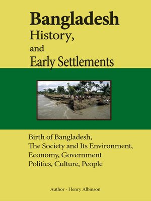 cover image of Bangladesh History, and Early Settlements