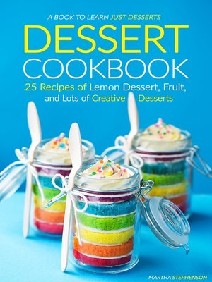 cover image of Dessert Cookbook