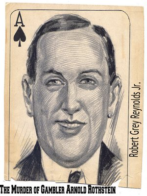 cover image of The Murder of Gambler Arnold Rothstein