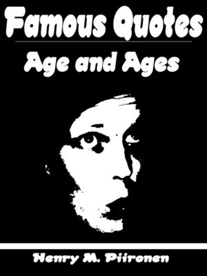 cover image of Famous Quotes on Age and Ages