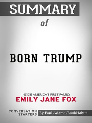 cover image of Summary of Born Trump