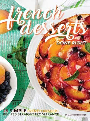 cover image of French Desserts Done Right