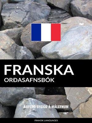 cover image of Franska Orðasafnsbók