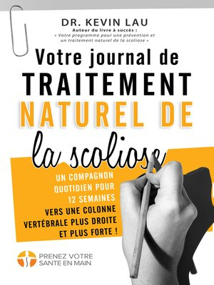 cover image of Votre journal de traitement naturel de la scoliose