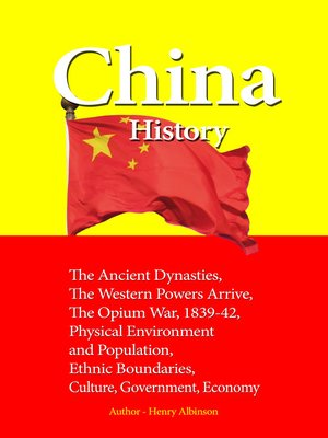 cover image of China History
