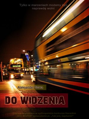 cover image of Do widzenia