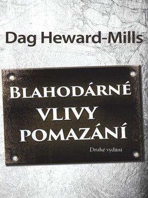cover image of Blahodárné Vlivy Pomazání