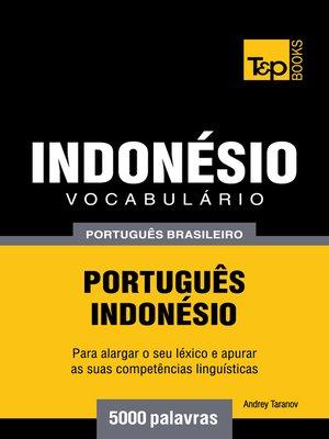 cover image of Vocabulário Português Brasileiro-Indonésio