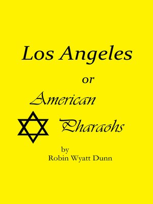 cover image of Los Angeles, or American Pharaohs