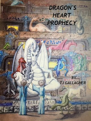 cover image of Dragon's Heart Prophecy
