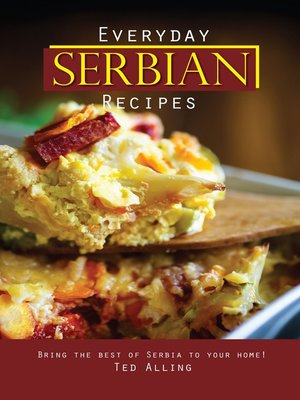 cover image of Everyday Serbian Recipes