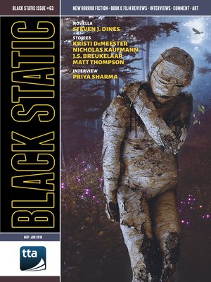 cover image of Black Static #63 (May-June 2018)