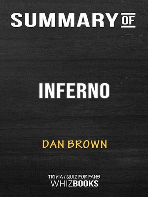 cover image of Summary of Inferno
