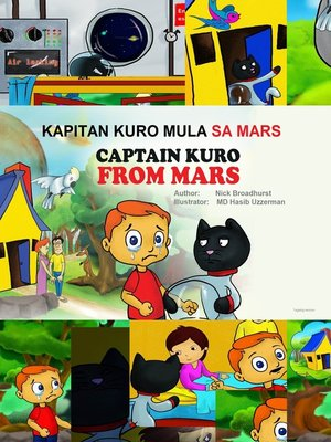 cover image of Kapitan Kuro Mula Sa Mars