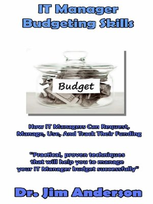 cover image of IT Manager Budgeting Skills