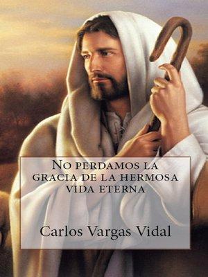 cover image of No perdamos la gracia de la hermosa vida eterna